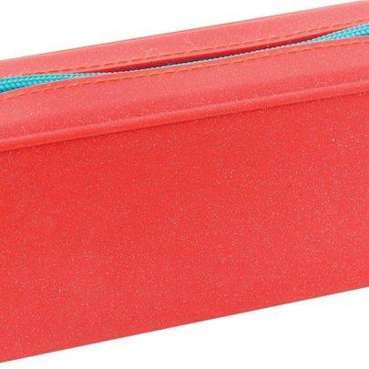 Пенал силиконовый 1 Вересня YES. Терракотовый, 18*5*6,5 см