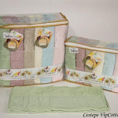 Набор полотенец Cestepe. Vip Cotton Sara