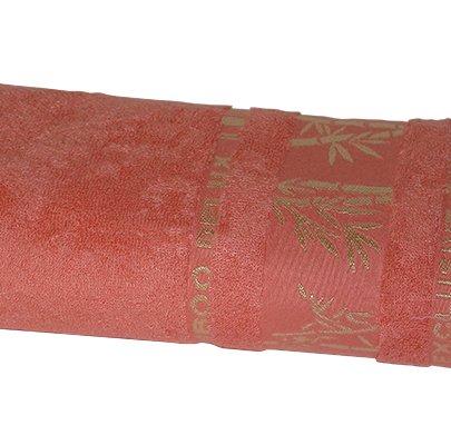 Полотенце махровое Gursan. Bamboo коралловое