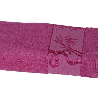 Полотенце махровое Gursan. Bamboo темно-розовое