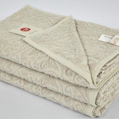 Бамбуковое махровое полотенце Arya. Duane серый