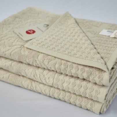 Бамбуковое махровое полотенце Arya. Flavia бежевый
