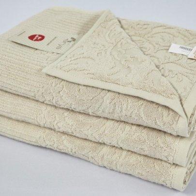 Бамбуковое махровое полотенце Arya. Jute бежевый