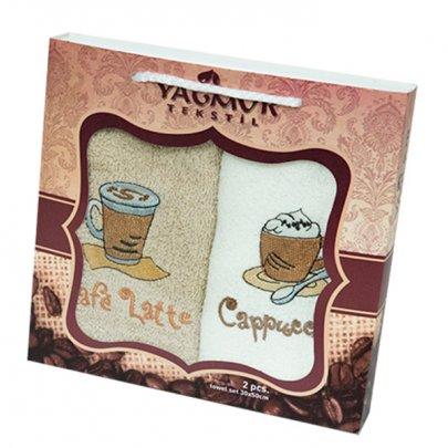 Набор салфеток для кухни Yagmur. Coffee 30х50 см, 2 предмета