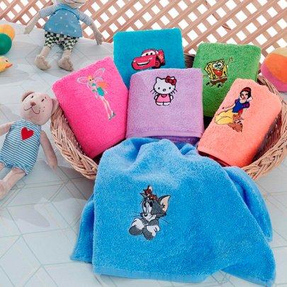 Набор махровых полотенец Yagmur. Cotton Kids klub размер 50х70 см, 6 предметов