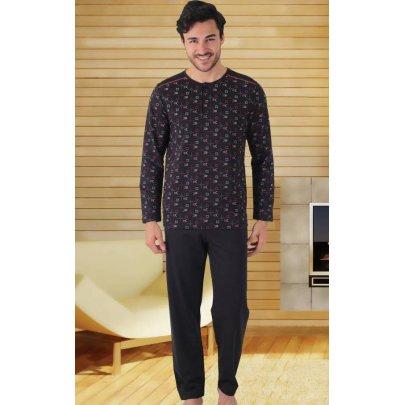 Домашний костюм с брюками мужской Cocoon. hall 39446 siyah