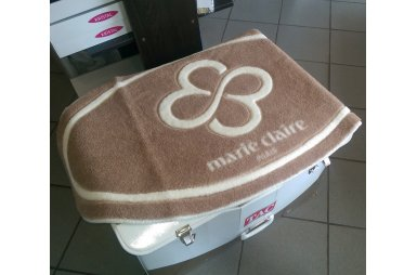 Коврик для ванной Marie Claire. Sally, коричневого цвета, 66х107 см