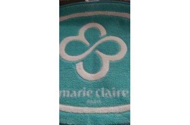 Коврик для ванной Marie Claire. Sally, цвета аква, 66х107 см