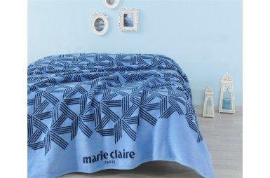 Плед Marie Claire. Bow голубой