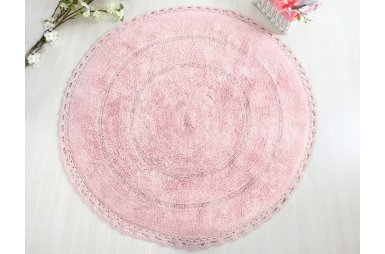 Коврик для ванной Irya. Genny розового цвета