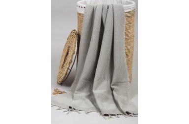 Пляжное полотенце Barine. Pestemal Stone Beige бежевое