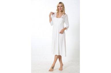 Ночная сорочка Mariposa. Модель 7142 EKRU