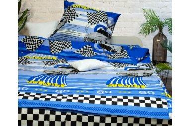 a4bd35ee1e59 Цвет Голубой/Бирюзовый/Синий Постельное белье для подростка ...