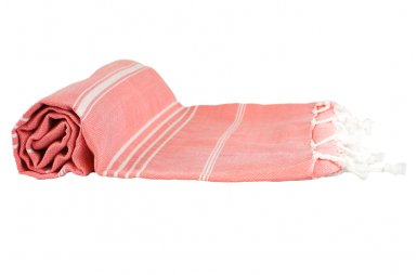Пляжное полотенце LightHouse. Cross Peshtemal, розовое №69