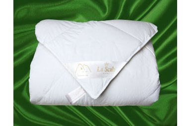 Одеяло La Scala из 100% пуха тибетского гуся, кассетное, размер 200х220см