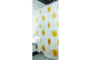Шторка для ванной Arya. Sunflower