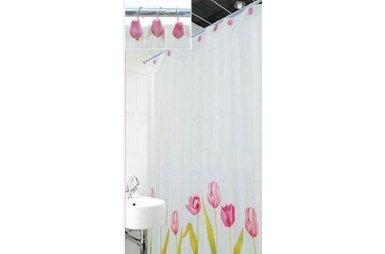 Шторка для ванной Arya. Tulip