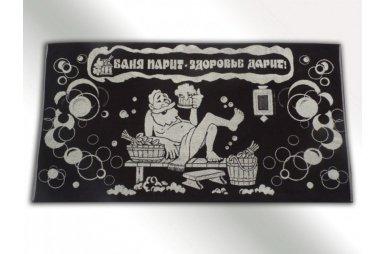 Махровое полотенце Речицкий текстиль. САУНА (81*160)