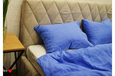 Наволочка BEIK-MORANDI. 100% лен LOFT BLUE