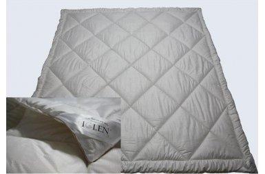 """Одеяло """"Iglen"""" летнее шерстяное детское в тике, размер 110х140"""