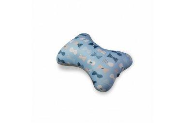 Подушка дорожная. Бантики, размер 30х20 см