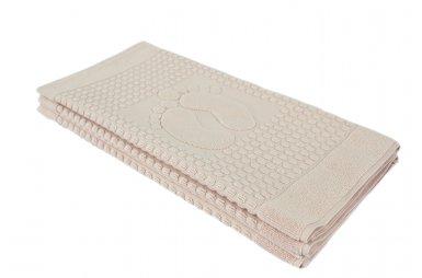 Полотенце-коврик для ног Arya. Winter Soft Пудра, 50х70 см