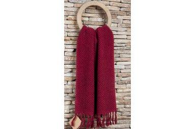 Махровое полотенце Buldans. Cakil burgundy