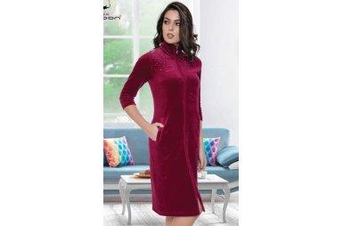 7a5265aba1cb Халаты женские велюровые - купить недорого | Интернет-магазин Satin ...