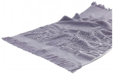 Махровое полотенце Arya. Жаккард Faralya Lila