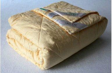 Одеяло зимнее Iglen 100% овечья шерсть в тике