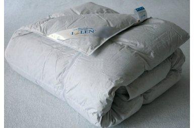 Одеяло демисезонное Iglen Климат-Комфорт 100% пух в тике