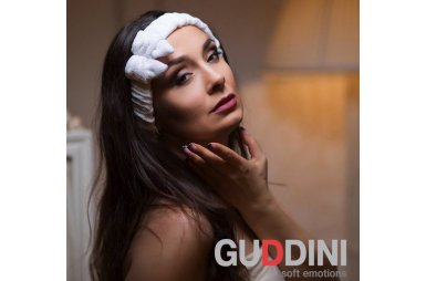 Повязка на голову с бантом Gudinni