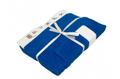 Набор для сауны мужской Gursan, синий, 3 предмета