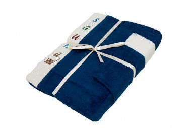 Набор для сауны мужской Gursan, темно-синий, 3 предмета