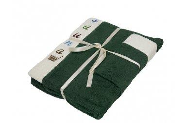 Набор для сауны мужской Gursan, зеленый, 3 предмета