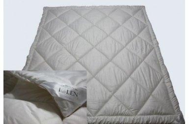 Одеяло демисезонное Iglen 100% овечья шерсть в тике