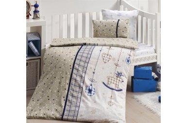 Детское постельное белье First Choice. Palmy Lacivert