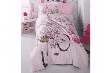 Подростковое постельное белье Clasy. Ranforce Paris Love