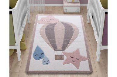 Детский коврик Confetti. Cloudy Pink