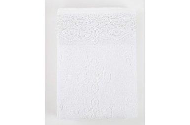Махровое полотенце Irya. Jakarli Dora beyaz