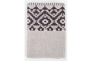 Махровое полотенце Irya. Jakarli New Wall gri