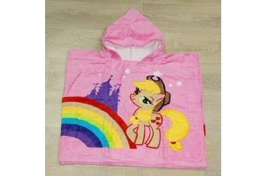 Детское полотенце-пончо My little pony 2