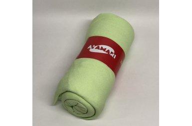 Простынь махровая на резинке с наволочками Al Amari. Green