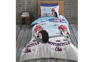 Подростковое постельное белье Arya. Ранфорс Racing
