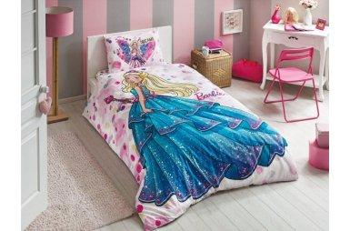 Подростковое постельное белье TAC. Barbie Dream (простынь на резинке)