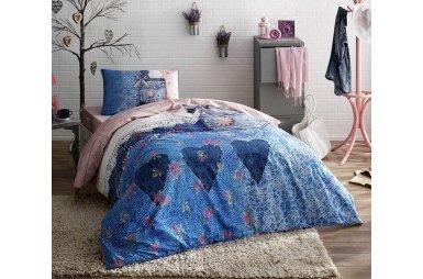 Подростковое постельное белье TAC. Ranforce Teen Lacy (простынь на резинке)