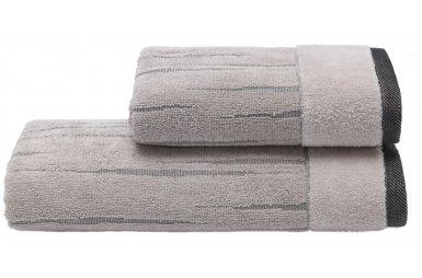 Махровое полотенце Arya. Жаккард Way Stone