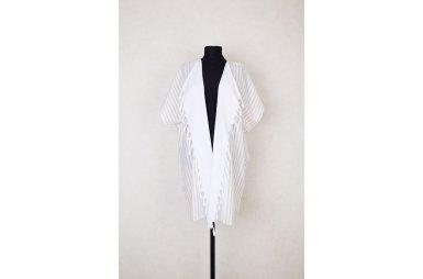 Туника для пляжа Barine. White Kimono Beige