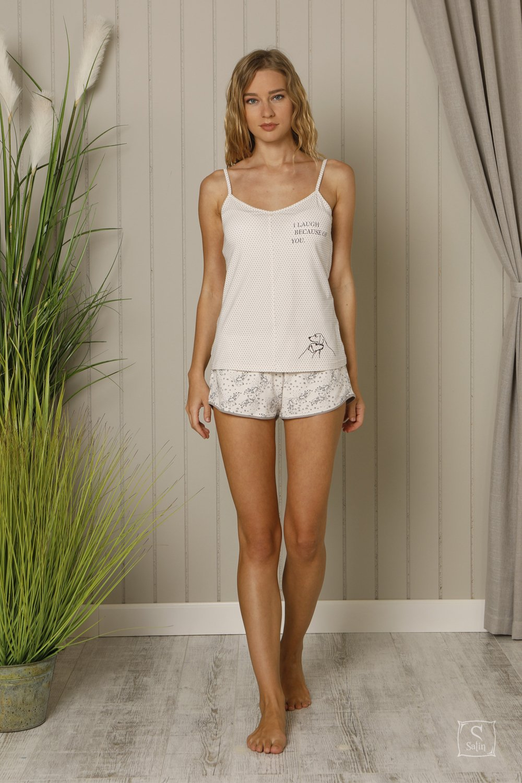 804a70e76938024 Купить Пижама женская майка с шортами Hays. Модель 18534 — лучшая ...