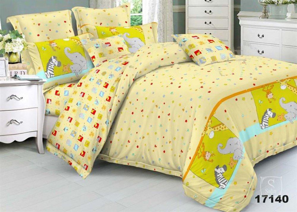 6f1b8a381f66 Купить Постельное белье в детскую кроватку Viluta. 17140 желтого ...